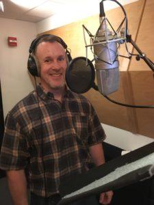 Cameron Thomas Voiceovers Studio Recording Session